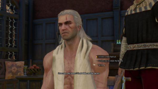 Hair Style With Beard: The Witcher 3: What Each Haircut And Beard Looks Like