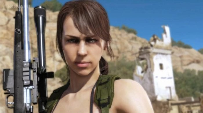 metal gear solid v phantom pain quiet