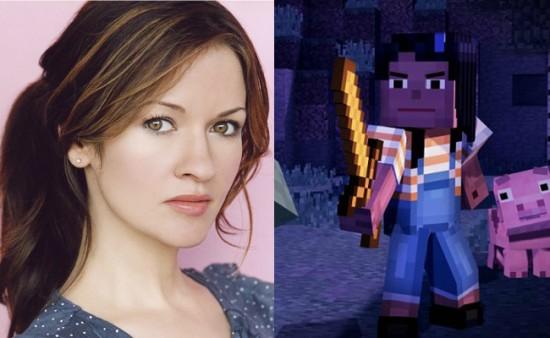 Minecraft: Story Mode - Jesse (f) voice actor