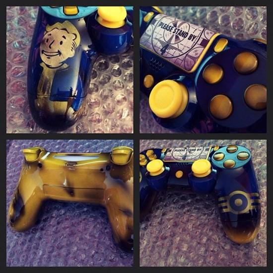 fallout 4 custom ps4 controller dualshock