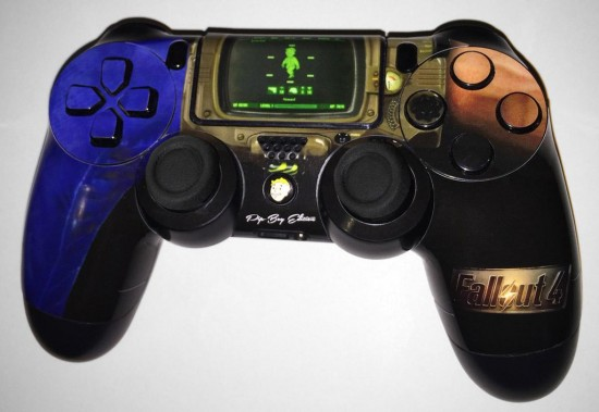 fallout 4 custom ps4 dualshock controller skin