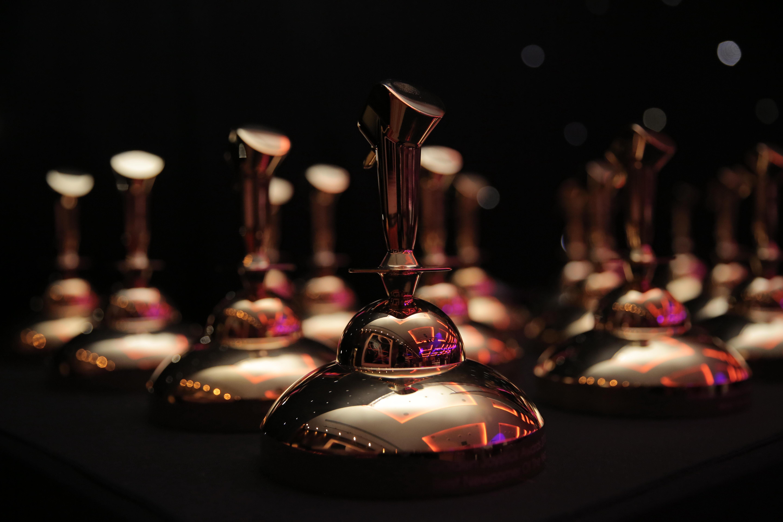 Golden Joystick Award Trophy