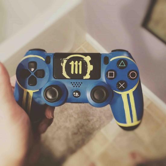 Fallout 4 dualshock controller custom