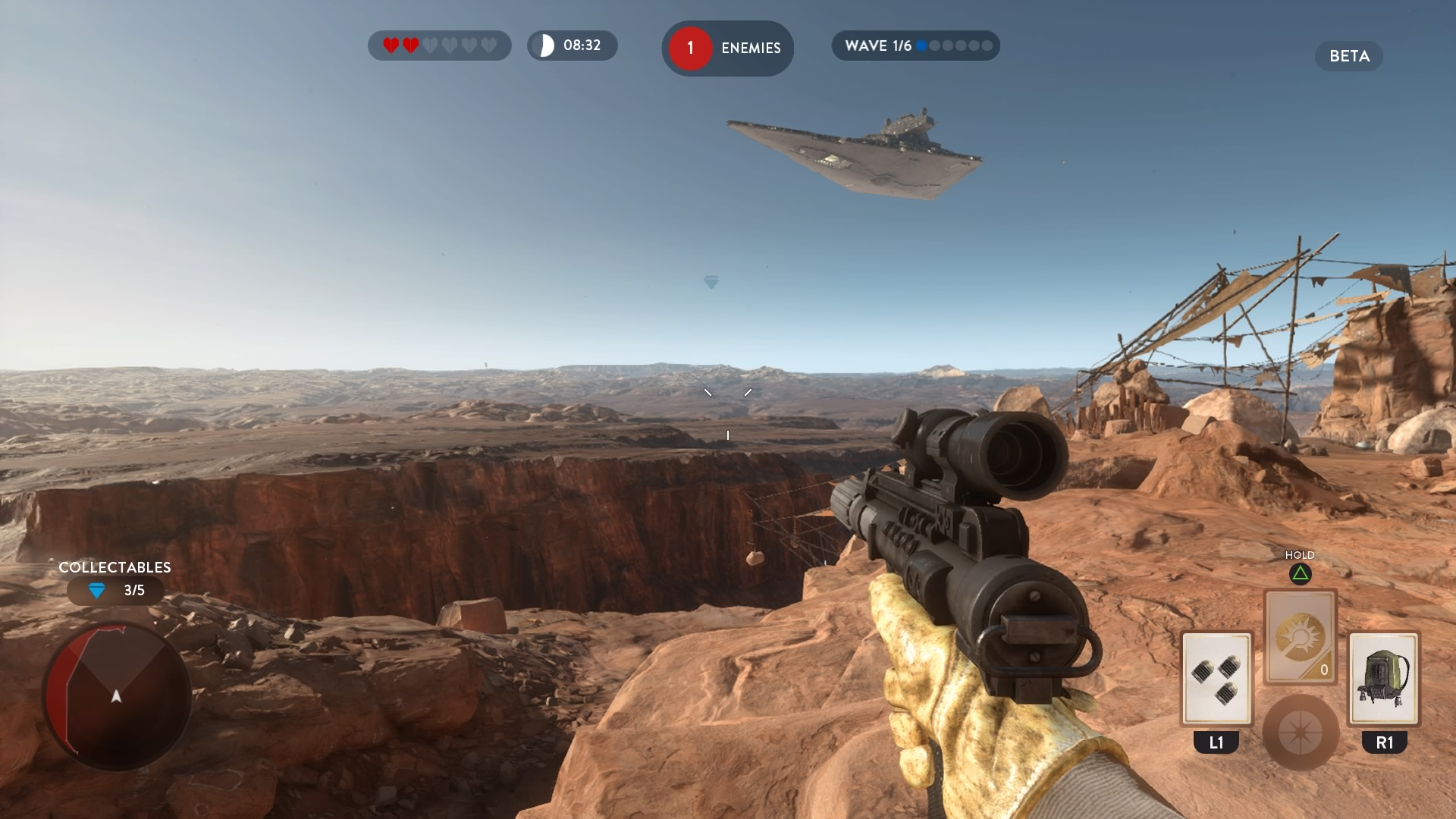 Star Wars Battlefront collectible tatooine diamond guide location where how to find