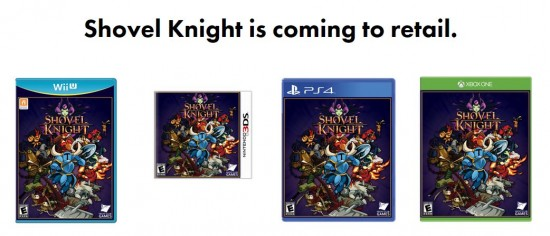 Shovel Knight - Retail
