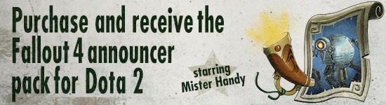 steam preorder mister handy dota 2 bonus