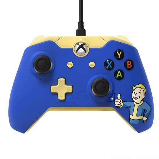 fallout 4 bethesda limited edition official xbox one controller wired