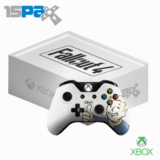 fallout 4 pax prime 2015 xbox controller