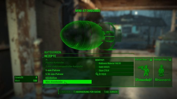 Fallout 4 Craftable Ammo