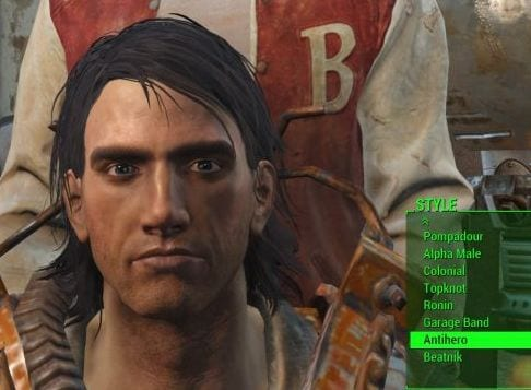 Fallout 4 What Each Secret Haircut Looks Like And Where To Find Them