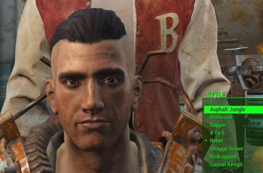 Fallout 3 character creation celebrity hairstyles