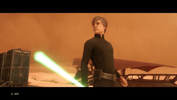 Luke Skywalker Screen Shot 11:14:15, 7.44 PM