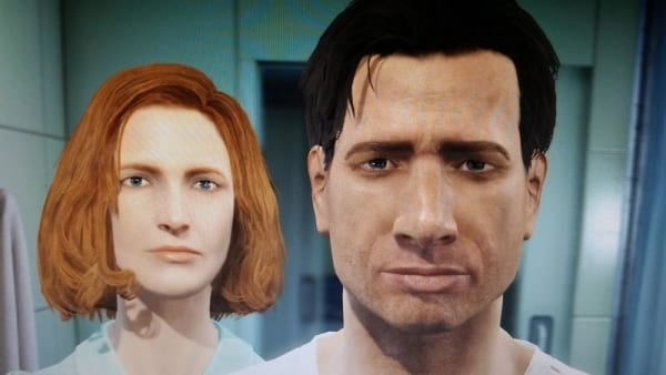 Mulder and Scully- 2player