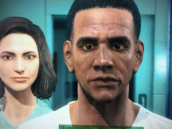 Fallout 4, character creation, Obama