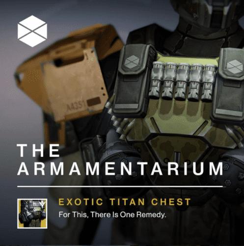 destiny armamentarium
