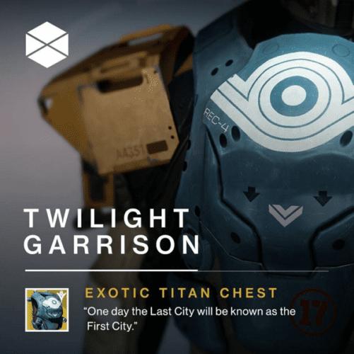 destiny Twilight Garrison