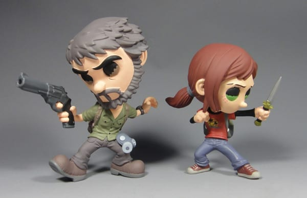 The Last of Us Vinyl Figures joel ellie