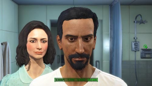 Fallout 4, character creation, Evil Abed