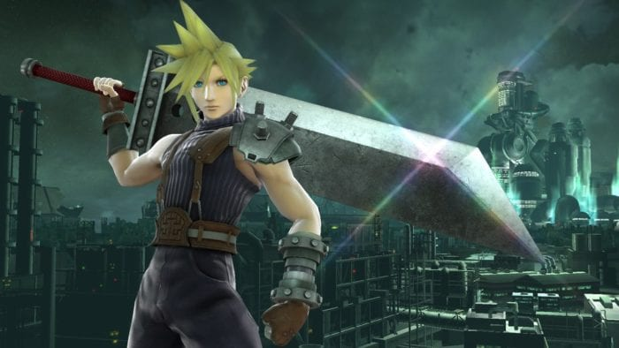 Cloud, Smash Bros, Final Fantasy, FF7, FFVII