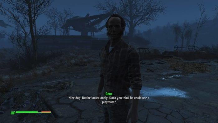 Fallout 4 dog