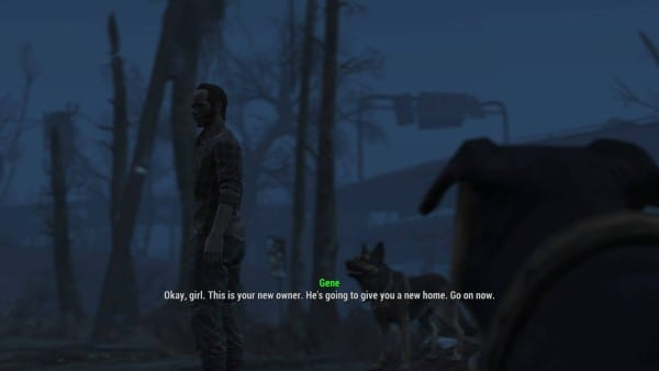 fallout 4 dog trader where to find buy get another settlment defense