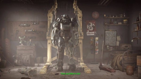 fallout power armor unlimited exp fallout 4