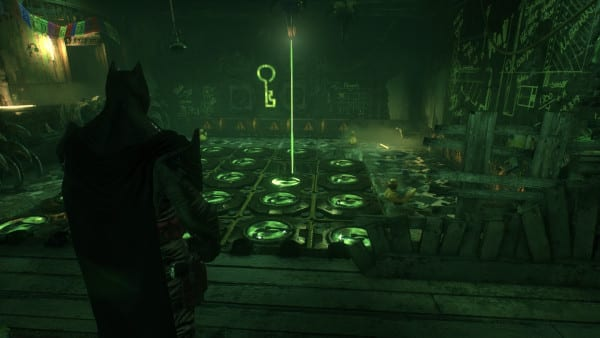 how to solve riddlers final test in arkham knight