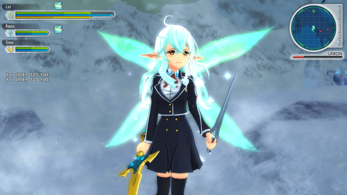 sao lost song real lux