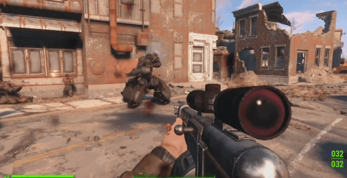 Fallout 4: How to Kill a Sentry Bot