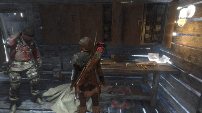 tomb raider purchaseable weapons