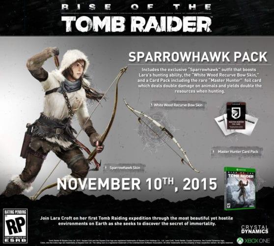 tomb raider sparrowhawk