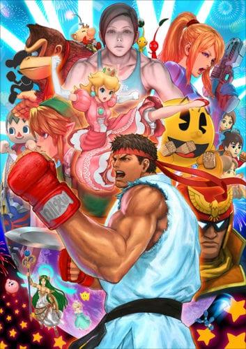 13 Smash_Ryu art
