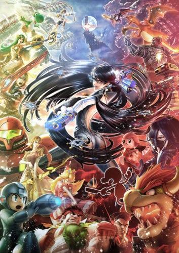16 Smash_Bayonetta art