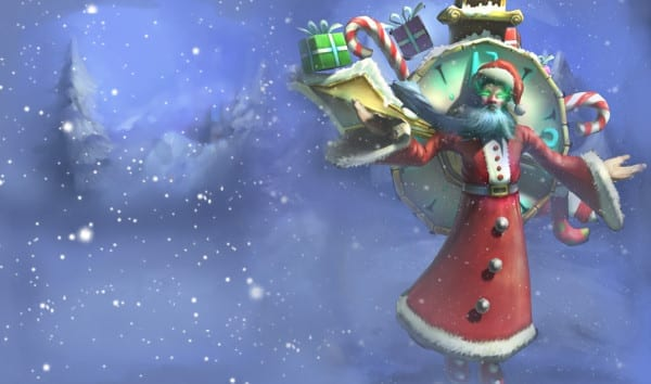 league of legends slowdown showdown winter skin splash original Old Saint Zilean