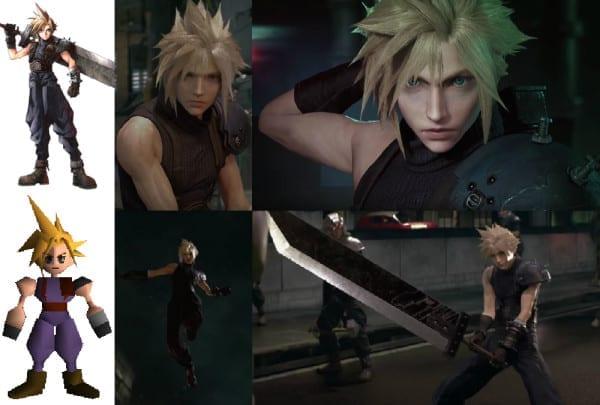 Final Fantasy VII Remake, Cloud
