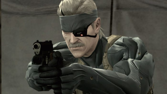 Old Snake Metal Gear Solid