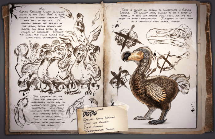 ARK: Survival Evolved Dodo