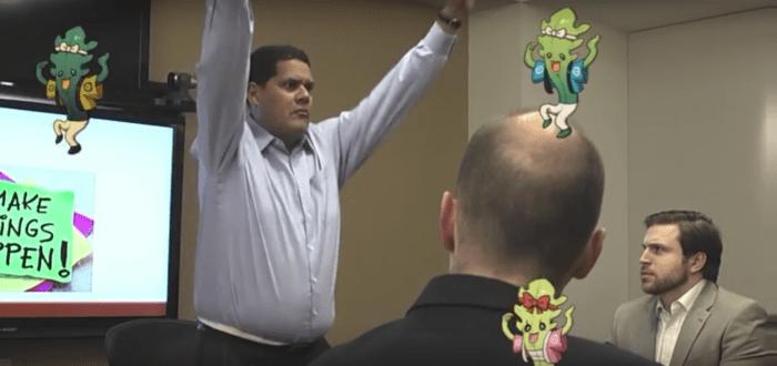 Reggie Fils-Aime Yo-Kai Watch