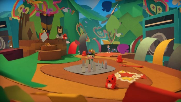 Tearaway Unfolded on PlayStation 4