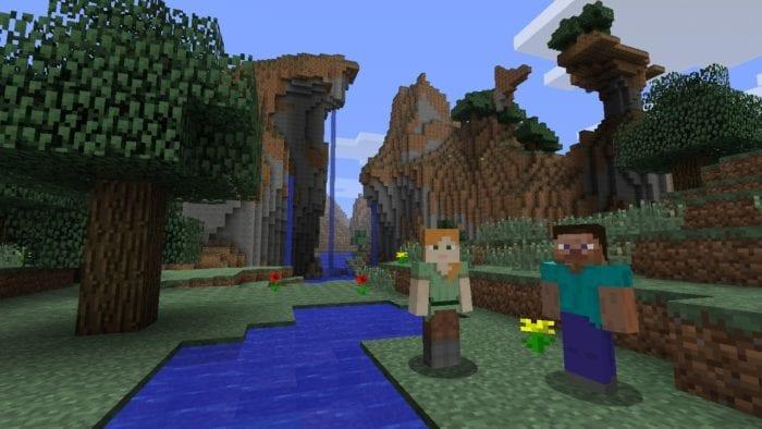 Minecraft on Wii U