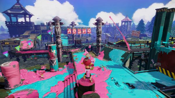 best multiplayer games, 2015, Splatoon, co-op wii u
