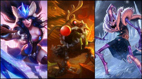 League of Legends Snowdown Showdown Skins