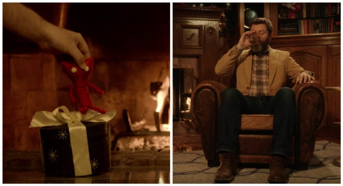 yarny unravel nick offerman vs fire whiskey