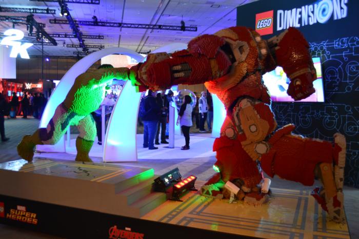 PSX Iron Man vs Hulk Lego