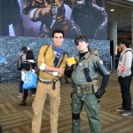 nathan drake metal gear cosplay psx 2015