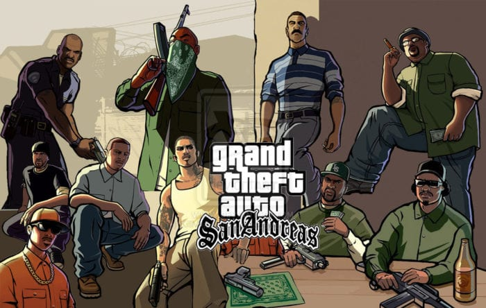 GTA, San Andreas, Grand Theft Auto, Rockstar Games