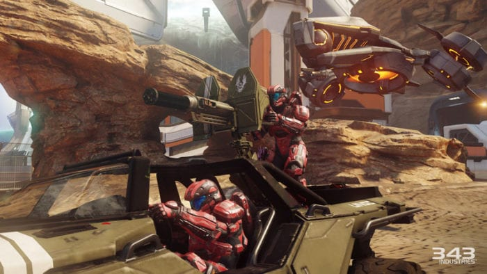 best multiplayer games, 2015, halo 5, warzone