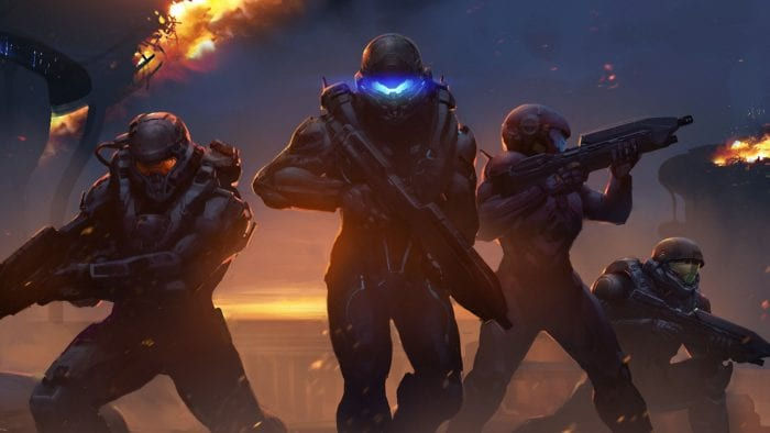 Halo 5 Guardians on Xbox One, multiplayer, online