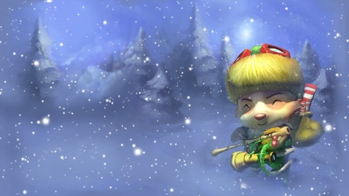 Happy Elf Teemo