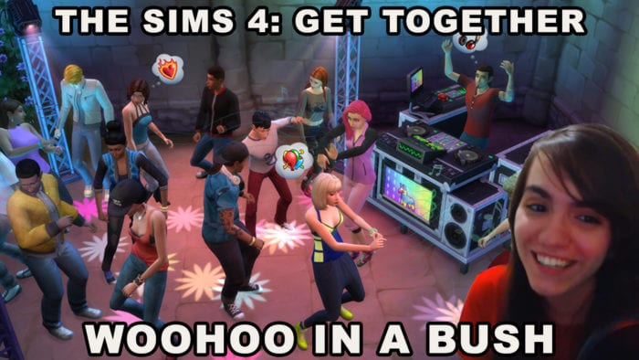 sims 4 get together woohoo bush